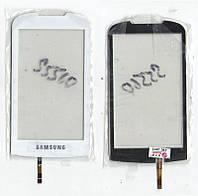 Сенсор Samsung S5560 белый