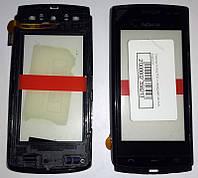 Сенсор Nokia 500 с передней частью корпуса