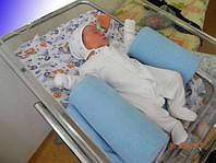 Подушка для новорожденных (ограничитель - фиксатор) сделано в Украине, синтеупух, подушка для сна