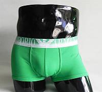 Мужские трусы боксеры Emporio Armani, зеленые, фото 1