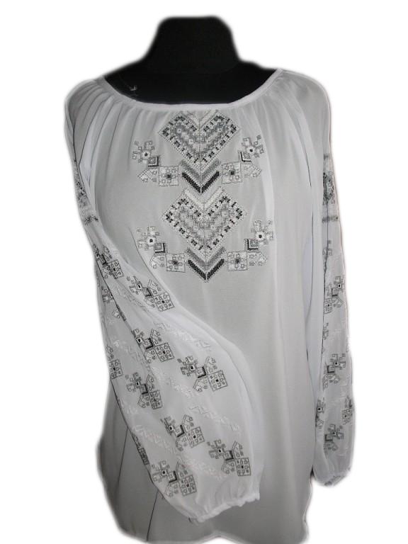 """Женская вышитая рубашка """"Мейдж"""" BT-0050"""