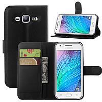 Чехол для Samsung Galaxy J5 2015 J500 J500h книжка кожа PU