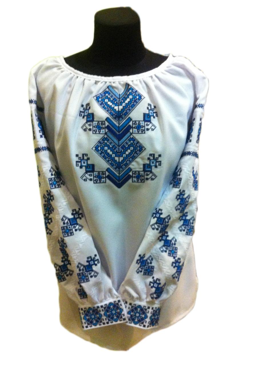 "Жіноча вишита сорочка (блузка) ""Моргана"" (Женская вышитая рубашка (блузка) ""Моргана"") BT-0057"