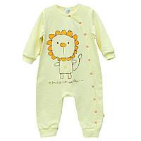 Комбинезон для сна девочке Minikin 161048 желтый