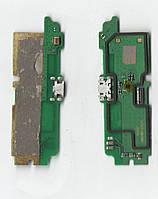 Нижняя плата Lenovo A850 + конктор зарядки+микрофон Б.У