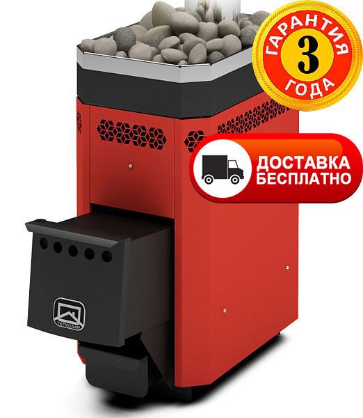 Дровяная печь-каменка для бани Русь 9Л