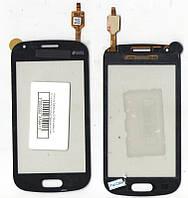 Сенсор Samsung S7562 Galaxy S Duos чёрный (качественная копия)