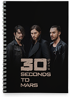 Блокнот Тетрадь 30 Seconds to Mars, №1