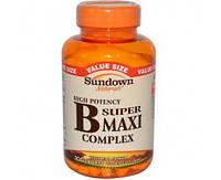 Sundown Naturals Super B Maxi Complex 200 caps