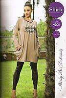 Женское платье и лосины-комплект