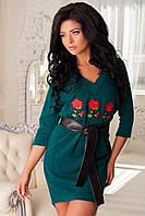 Платье женское из ангоры XL