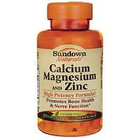 Sundown Naturals Calcium Magnesium & Zinc 90 caps
