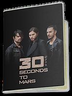 Обложка для паспорта  30 Seconds to Mars, №1