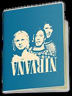 Обложка для паспорта  Nirvana, №4