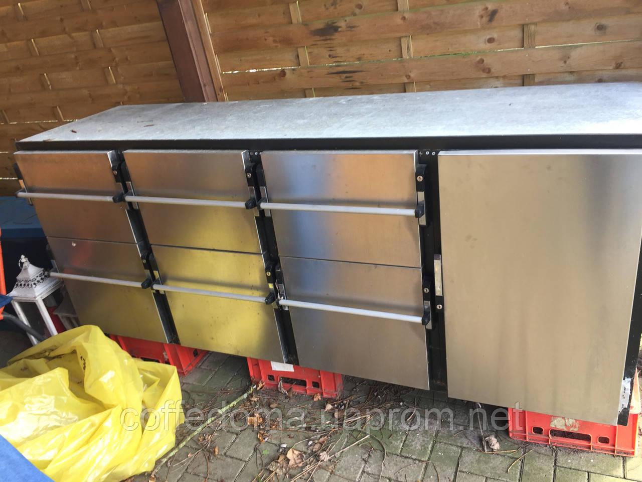 Стол холодильный из нержавеющей стали