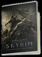 Обложка для паспорта  The Elder Scrolls 5 Skyrim, №5 (Игра)