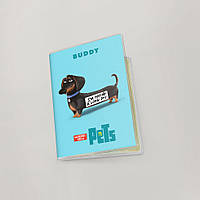 Обложка для паспорта  Тайная жизнь домашних животных, №4