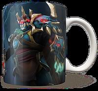 Чашка, Кружка Wraith King, Dota 2, #1 (кинг, Дота 2, два)