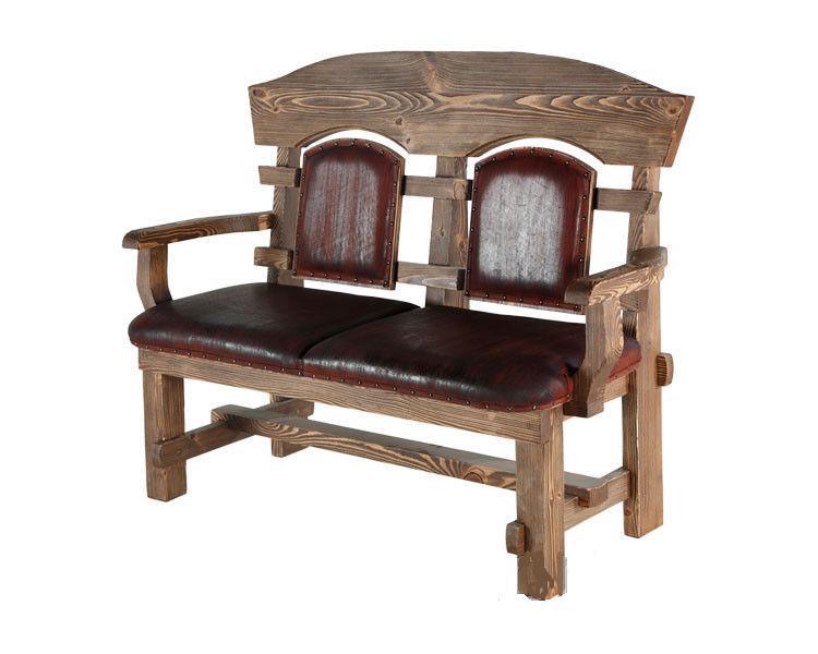 Кресло из натурального дерва