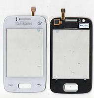Сенсор Samsung S6102 Galaxy Y Duos белый