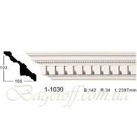 Карниз(плинтус) потолочный с орнаментом Classic Home 1-1030, лепной декор из полиуретана