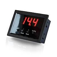 Автомобильный вольтметр Kicx Quick Voltmeter-2 (цифровой с функцией защиты)