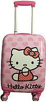 4-х колесный чемодан для принцессы средний Suitcase Hello Kitty 1 average