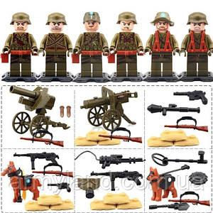 Военные фигурки,Набор анти японской армии, World of War II военный конструктор, аналог лего, BrickArms
