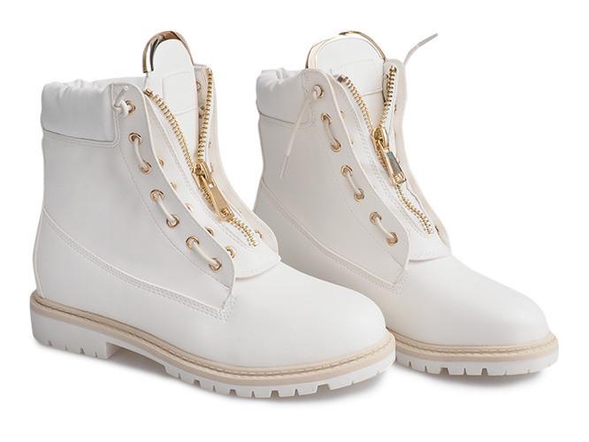 Женские ботинки Felicjan white