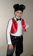 Карнавальный детский костюм Микки Маус  для мальчика 110-130 см