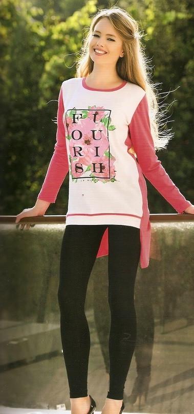 Женская модная туника и лосины купить в интернет магазине