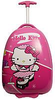Чемодан для девочки, на двух колесах Suitcase Hello Kitty pink
