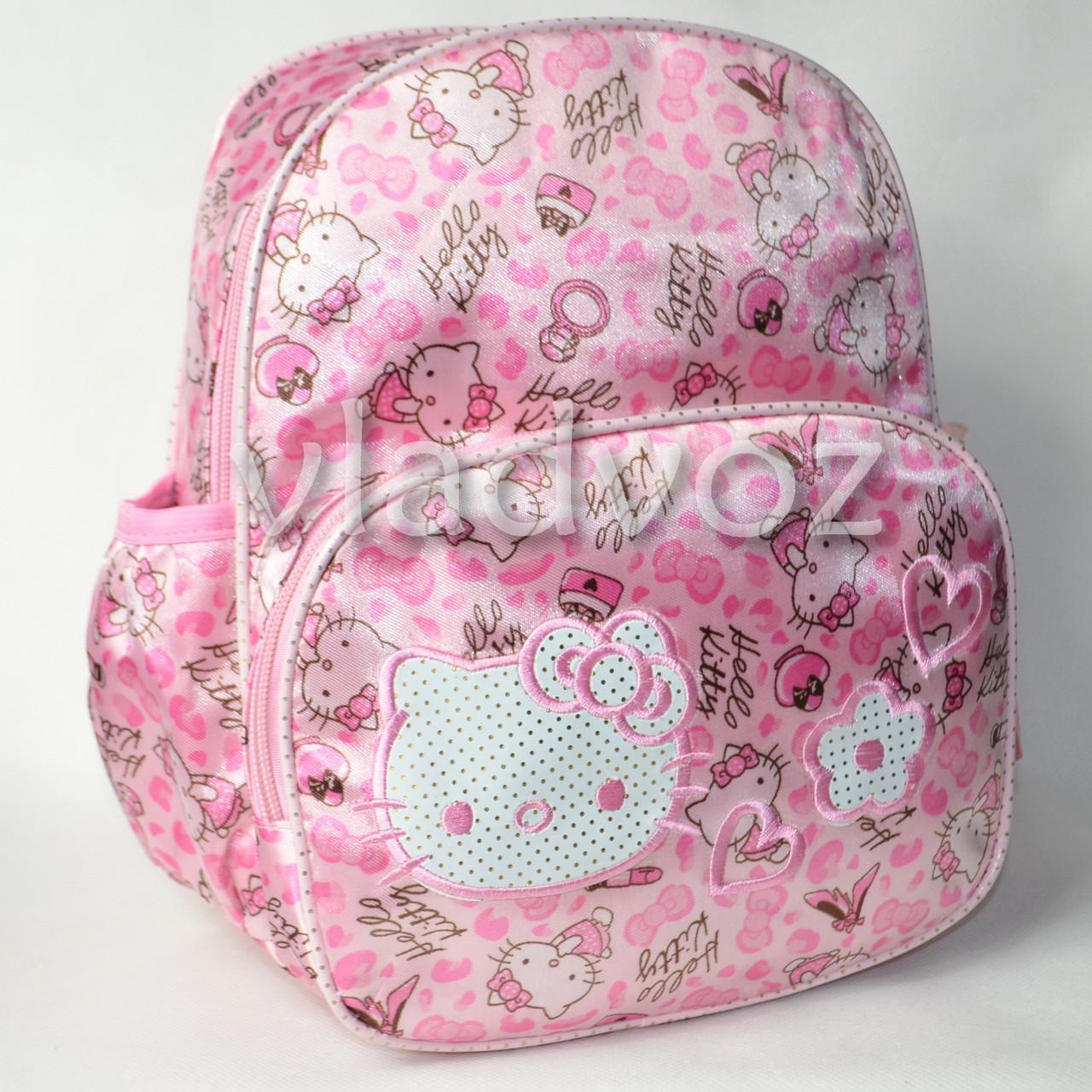 детский рюкзак hello kitty розовый