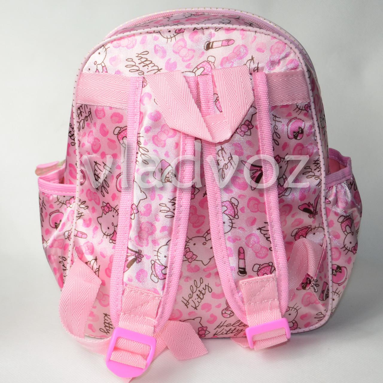 детский рюкзак hello kitty вид сбоку