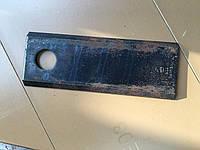 Нож косилки КРН 2.1 длинный 125х56х4