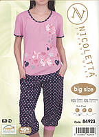 Женская пижама  большой размер Nicoletta