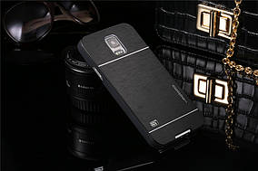 Накладка Motomo для Samsung Galaxy S5 SM-G900H Black