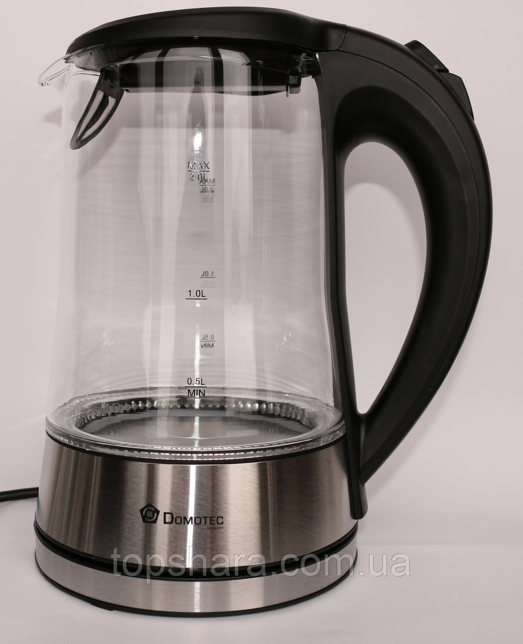 Электрочайник Domotec DT-704 чайник 2 л. черный