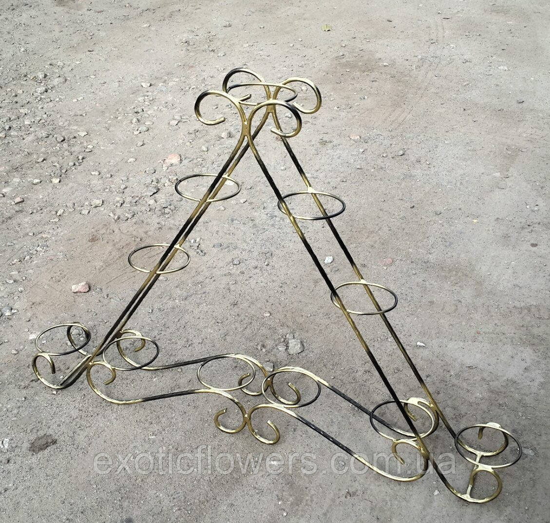 """Підставка для квітів на 11 кілець """"Піраміда-4"""""""