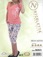 Пижама женская с капрями  Nicoletta