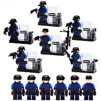 Набор SWAT полиция 6шт (Лего)