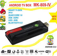 MK 809 IV поколение! Android TV 4.2 QUAD Core 1.8 HDMI WIFI GOOGLE TV BOX 2G DDR3 8GB + bluetooth+настройки, фото 1