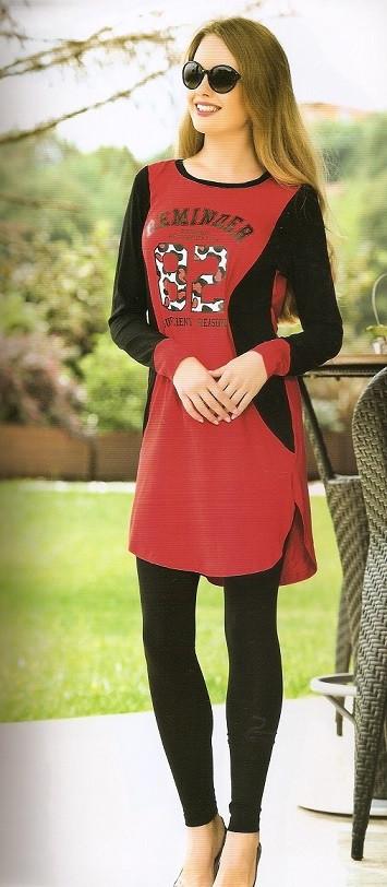 Женское платье-туника и лосины купить в интернет магазине