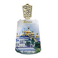 """Доска деревянная """"Киев: Киево-Печерская Лавра"""""""