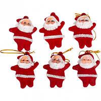 Украшение «Дед Мороз» красный
