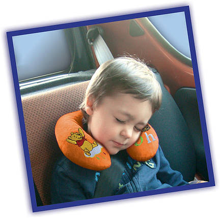 Подушка валик на шею Винни Пух, фото 2