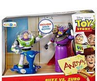 Набор 2в1 Базз Лайтер (Светик) и Зург, История игрушек - Buzz Lightyear&Zurg, Toy Story 3, Mattel 6