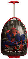 Чемодан для мальчика 2-х колесный Suitcase spider black