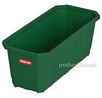 Балконный ящик для цветов 40 см Curver 04313  цвет - зеленый