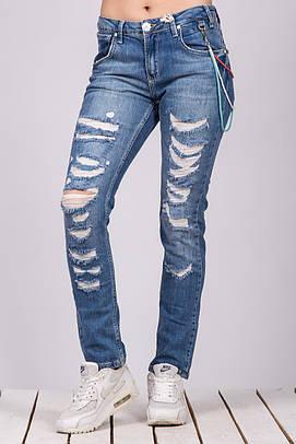 Джинсы женские Blue White Jeans BLUE WHITE 14W431 BOYFRIEND 628 BLUE SHNYRKI